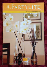 PartyLite 2009 Winter / Spring Everyday Catalog Retired Book Consultant HTF