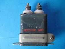 VINTAGE AEROVOX CAPACITOR 1MFD 600V.