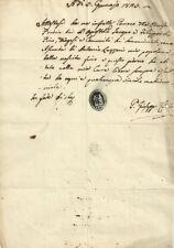 Chiesa di Pino a Ponte a Elsa- San Miniato - Certificato Contestuale 1825