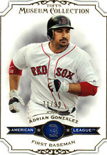 """2012  TOPPS    """"MUSEUM COLLECTION""""   BLUE  #14  ADRIAN GONZALEZ  71/99"""
