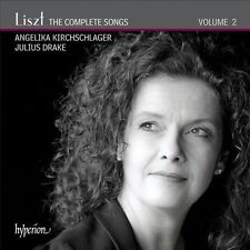 Liszt: The Complete Songs, Vol. 2 (CD, 2012, Hyperion) new