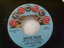"SUGAR PIE De SANTO ""SLIP-IN MULES / MR & MRS"" 45 MINT UNPLAYED OLD STORE STOCK"