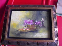 Vintage Small Gault Galleries Marlene Signed Fruit and Flowers Painting