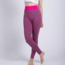 Womens Leggings Yoga Pants | Size: XL | Pink & Gray Camouflage