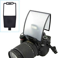 Flash Diffuser Softbox Black Clear Reflector for Canon Nikon Yongnuo SpeedliteNV