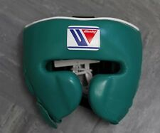 WINNING BOXING FG-2900 - RARE GREEN Medium Professional Headguard - Grants Reyes