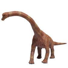 "13"" PVC Hard Solid Large Brachiosaurus Simulation Dinosaur Model Home Decoration"