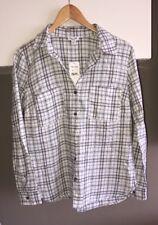 Splendid Size XS Soft Cotton Button Front Shirt Retail $128