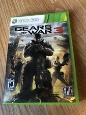 Gears of War 3 (Microsoft Xbox 360, 2011) Cib Game ES