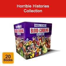 Horrible Histories Blood Curdling series Terry Deary 20 books collection box set