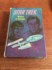 Star Trek Mission to Horatius by Mack Reynolds hardcover 1968