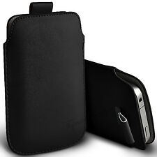HTC DESIRE C - PU LEATHER PULL TAB CASE COVER POUCH