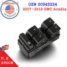 Power / Master Window Switch for GMC Acadia 2007-2016 Left/Driver 3.6L WARRANTY