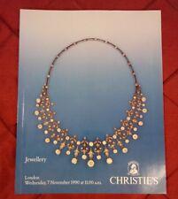 Christies 1990 Jewellery Nov.