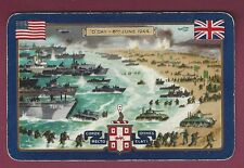 Original Playing Card, Commemoration of D-Day, June 6, 1944