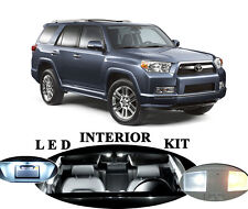 LED for Toyota 4 Runner Xenon White LED Interior Package Upgrade (10 pieces)