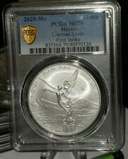2020 Mexico 1oz  Libertad Onza -   MS 70   SHIPPED RIGHT AWAY SECOND PCGS CERT.