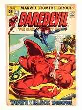 Daredevil #81 1971 -- Giant-Size -- Black Widow begins