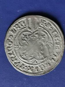Electorate of Saxony, 1 SIlver Schildgroschen, Friedrich II, 1456-1464