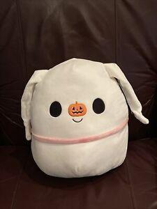 "Zero Ghost Dog Disney Nightmare Before Christmas Squishmallow 12"" Halloween NWT"