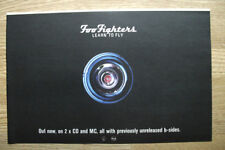 Foo Fighters - Learn to Fly - 1999  MUSIC ADVERT 11 X 7 in