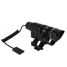 Hunting Red Dot Laser Sight Scope QD 20mm Picatinny Rail Mount For Rifle Gun