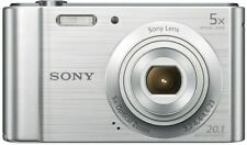 Sony Camera Silver 20.1mp 5xzoom 2.7lcd 720phd 23mm G Lens