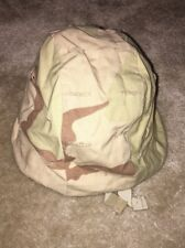 U.S. Armed Forces Helmet Cover Desert Camo X-Small/Small Used