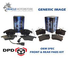 OEM SPEC FRONT REAR PADS FOR RENAULT MEGANE SCENIC 1.9 TD 80 BHP 1999-03