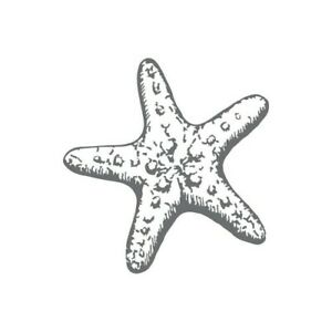 Couture Creations Mini Stamp - Seaside and Me - Starfish Ocean Beach