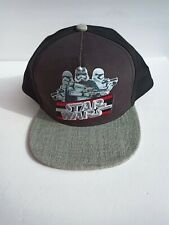 Youth  Small Stormtroopers STAR WARS Hat BLACK  Snapback Adjustable Cap