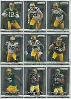 2013 Panini Prizm Green Bay Packers Team Set 9 Cards Aaron Rodgers Randall Cobb