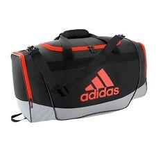 New Adidas Defender Duffel Small Gym Bag 5139750 Black/Grey