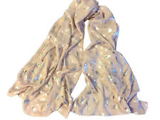 blingustyle Swarovski ELEMENTS Crystal leaf design lady scarf Wrap Shawl