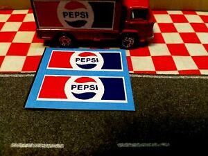 Corgi Juniors Leyland Terrier Truck  Pepsi Set of Stickers only  NO TRUCK
