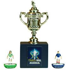 Scottish FA Cup & caja de presentación. producto con licencia oficial. Subbuteo Fútbol. 70mm