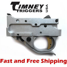 Timney Drop In Competition Trigger Group for Ruger 10/22 - Silver Housing w/Gold