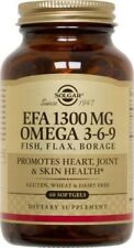 EFA 1300mg Omega 3-6-9 Solgar 60 Softgel