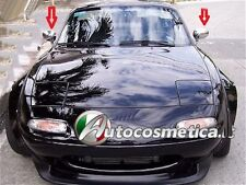 Spiegelkappen Chrom ABS fuer Mazda MX5 NA 1989-1997 Made in Italy