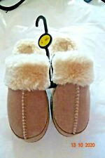M & S MINK/DUCKEGG/BERRY LEATHER REAL SHEEPSKIN SLIPPERS/MULES 3, 4, 5,6,