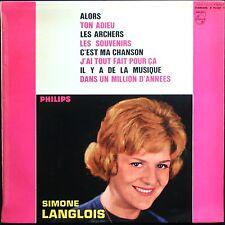 SIMONE LANGLOIS Paul MAURIAT / Joel HOLMES RARE 25CM 10'' BIEM PHILIPS B 76.532