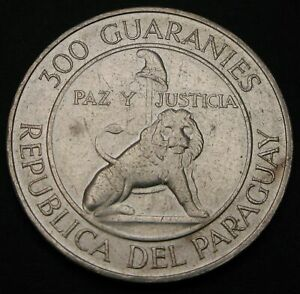 PARAGUAY 300 Guaranies 1968 - Silver - 4th Term of President Stroessner - 1816