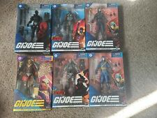 Gi Joe Classified Lot Exclusive Regal Cobra Commander Destro Snake Eyes Road
