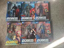 Gi Joe Classified Lot Exclusive Regal Cobra Commander Destro Snake Eyes Road