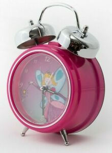 PERSONALISED Kids Alarm Clock - SINGS YOUR CHILD'S NAME! (Pink Fairy)