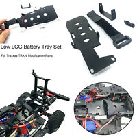 For Traxxas TRX-4 KYX Metal Low LCG Battery Tray Relocation Mount Chassis Brace