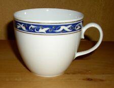Friesland  1 Kaffeetasse mehrfarbiges Dekor und Goldrand