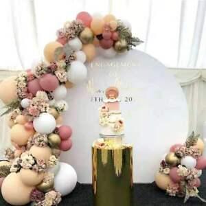 105pcs Retro Rose Balloon Arch Kit Garland Birthday Wedding Party DIY Decoration