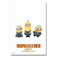 138296 Minions Despicable Me 3Coon MovieCute Funny Wall Print Poster Plakat