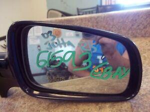 "1999-2011 Volkswagen Jetta Right Passenger ""Blue"" OEM Electric Side View Mirror"
